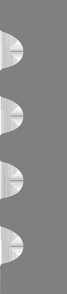Profil Pilastre 4 cannelures