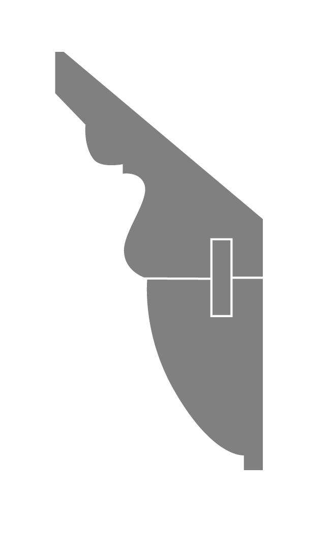 Profil CORNICHE OVE