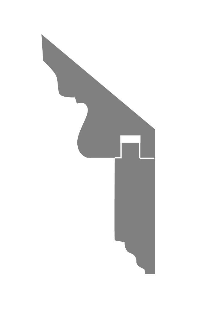 Profil CORNICHE DENTICULE